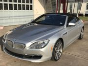 2012 BMW 6-Series Base Convertible 2-Door